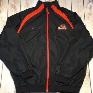 Nike men's lightweight clima-fit OSU zip jacket